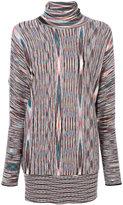 Missoni striped jumper - women - Polyamide/Wool - 38