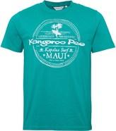 Kangaroo Poo Mens Printed T-Shirt Green