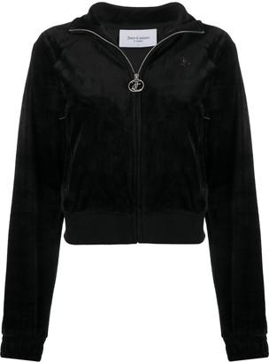 Juicy Couture Tanya zip-up velour sweatshirt