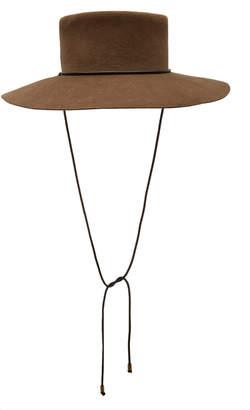 CLYDE Angora Gaucho Hat
