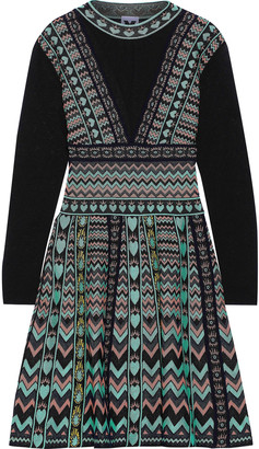 M Missoni Jacquard Mini Dress