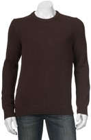Croft & Barrow Big & Tall Classic-Fit 5GG Crewneck Sweater