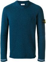 Stone Island crew neck jumper - men - Polyamide/Wool - S
