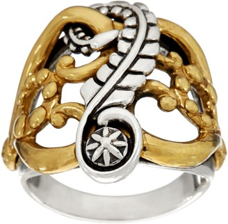 American West Earth Spirit Mixed Metal Ring