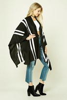 Forever 21 Striped Sweater Shawl