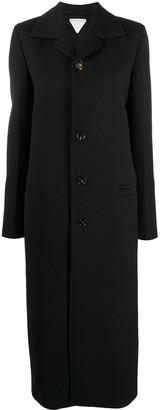 Bottega Veneta Single-Breasted Long Coat