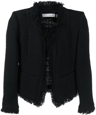 IRO Frayed Tweed Jacket