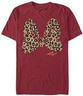 Fifth Sun Tee Shirts CARDINAL - Cardinal Leopard Bow Tee - Adult