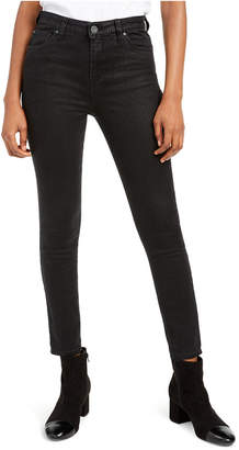 KUT from the Kloth Mia Python Skinny Ankle Jeans