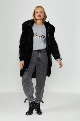 Coast Velvet Puffer Coat