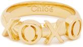 Chloé XOXO ring