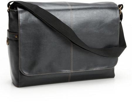 Perry Ellis Large Flap Messenger Bag