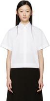 Dolce & Gabbana White Poplin Shirt