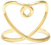 Chloé Twisted-heart cuff