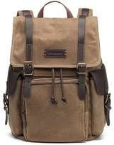 Trask Men's 'Bridger' Waxed Canvas Backpack - Beige