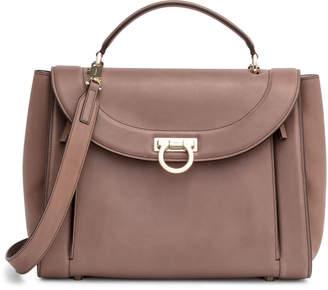 Salvatore Ferragamo Sofia medium rainbow brown bag