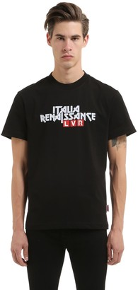 Italia Independent Lvr Editions Cotton Logo T-Shirt