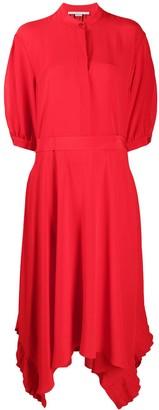 Stella McCartney Ophelia pleat-hem dress