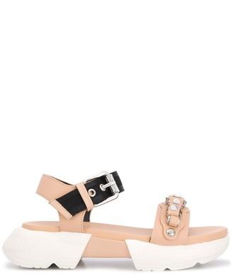 Baldinini Rhinestone Detail Sandals