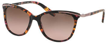 Ralph Lauren RALPH BY EYEWEAR Essential 54mm Extended Temple Inlayed Cat-Eye Sunglasses