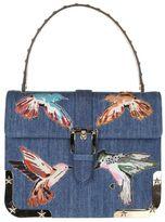 RED Valentino Handbag Blue Denim