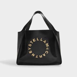 Stella McCartney Tote In Black Patent Alter Nappa