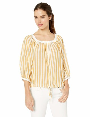 Lucky Brand Women's Stripe Banded TOP