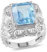Catherine Malandrino Blue Topaz Vintage Ring.