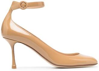 Francesco Russo Ankle-Strap Pumps