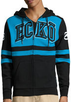 Ecko Unlimited Unltd. Long-Sleeve Arch Rival Full-Zip Hoodie