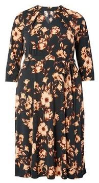 Dorothy Perkins Womens **Dp Curve Yellow Floral Print Shirt Dress, Yellow