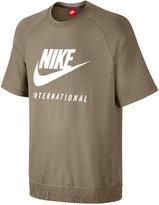 Nike Men's International French Terry Short Sleeve Sweatshirt