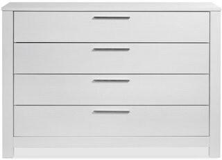 Grain Wood Furniture Loft 4 Drawer Dresser Color: Brushed White