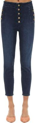 J Brand NATASHA HIGH SKINNY STRETCH DENIM JEANS