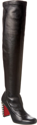 Christian Louboutin Leather Knee High Boot