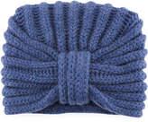 Rosie Sugden Classic Cashmere Head Turban, Light Blue