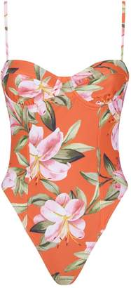 Mara Hoffman Desiree Floral Swimsuit