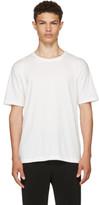 Issey Miyake White Basic Bio T-shirt