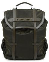 Stella McCartney khaki falabella backpack
