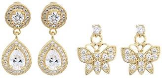 Vanessa Mooney The Astra Earrings Set (Gold) Earring