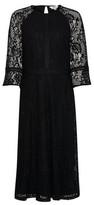 Dorothy Perkins Womens Dp Tall Black Lace Dress, Black