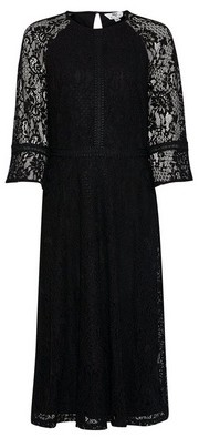 Dorothy Perkins Womens Dp Tall Black Lace Dress, Black