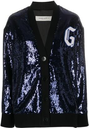 Golden Goose Sequin Wool Cardigan