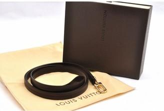 Louis Vuitton Brown Leather Necklaces