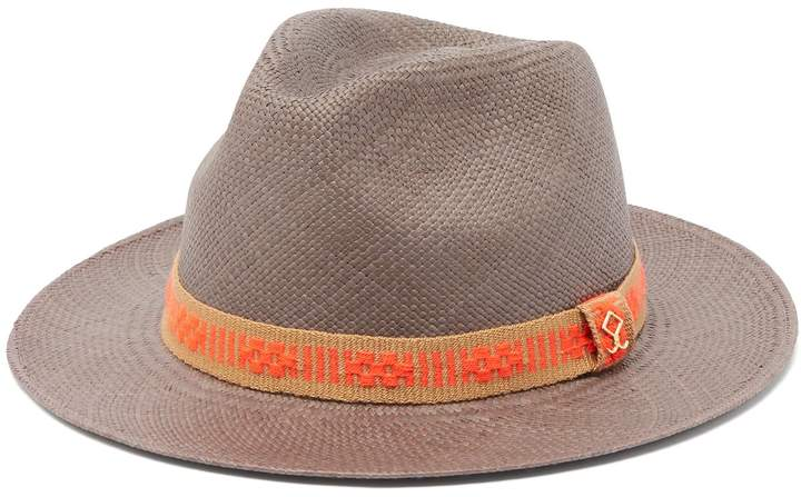 Yosuzi Elias woven straw hat