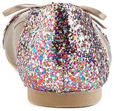 JCPenney 9 & Co.® Neon Glitter-Embellished Ballet Flats