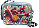 Steve Madden Braye Embroidered Crossbody Camera Bag