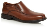 Rockport Brown Leather Slip On Shoes