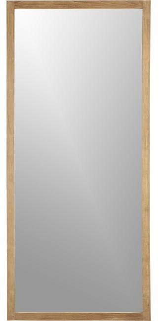 Crate & Barrel Linea Floor Mirror