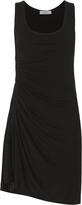 A.L.C. Lelah Ruched Mini Tank Dress Black P